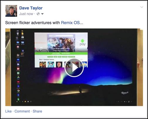 uploaded, embedded video facebook