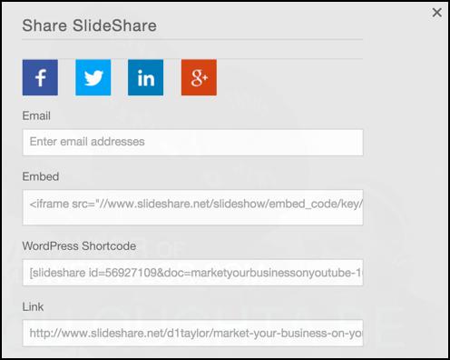 share window, slideshare