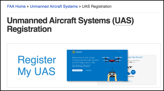 register your drone unmanned aircraft system (uas) faa