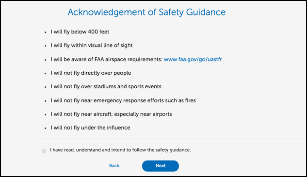 faa suas drone safety guidelines