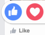 new reactions emoji emoticons facebook how to use like
