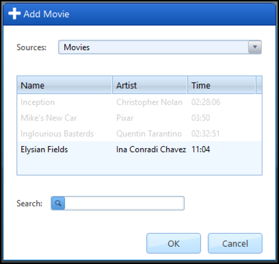 add files to convert remove drm video movies itunes