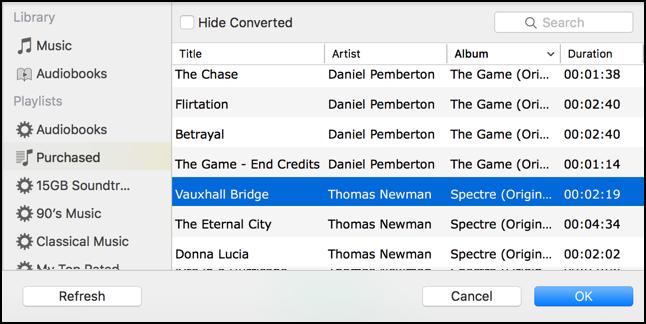 find music audiobooks to convert m4a mp3 mac