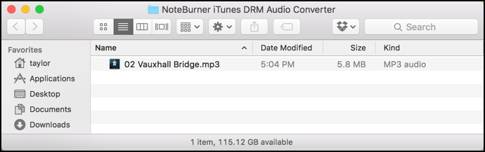 m4a drm converted to mp3 no protection audio file