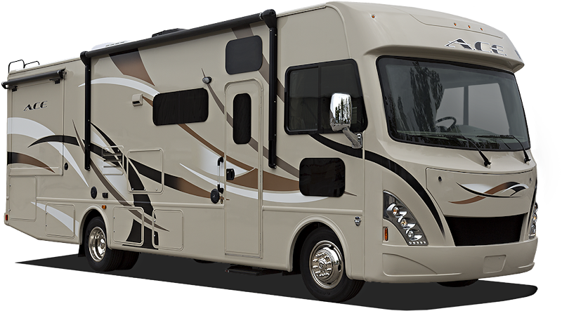 a typical class a motorhome rv