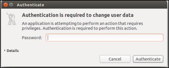 unlock add user account management, ubuntu linux