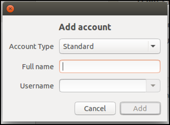 add a new user account, linux