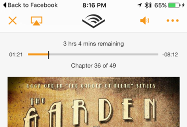 view all your clips and bookmarks, audible app for iphone
