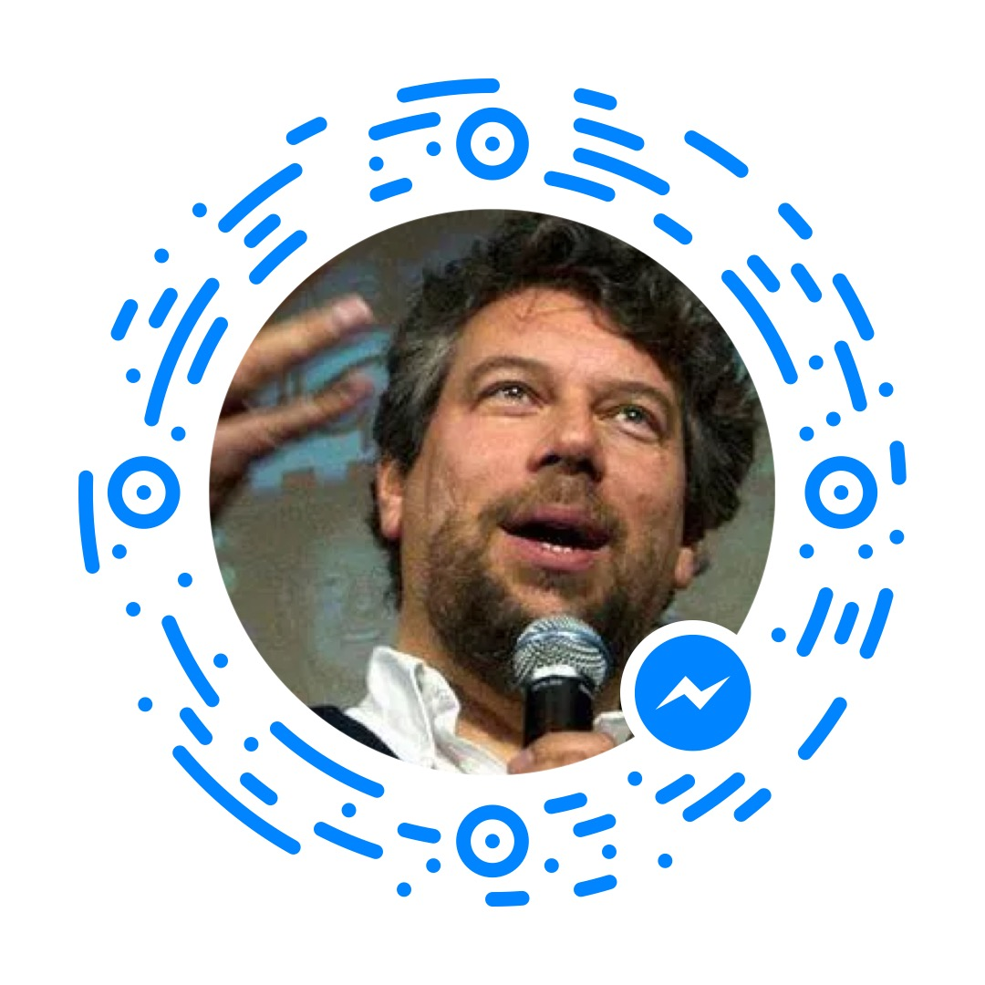 dave taylor, ask dave taylor, facebook messenger scan code