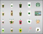 how to install, use starbucks keyboard emoji stickers iphone ipad ios