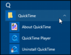 security safety uninstall remove delete apple quicktime player 7 from microsoft windows win7 win8 win10