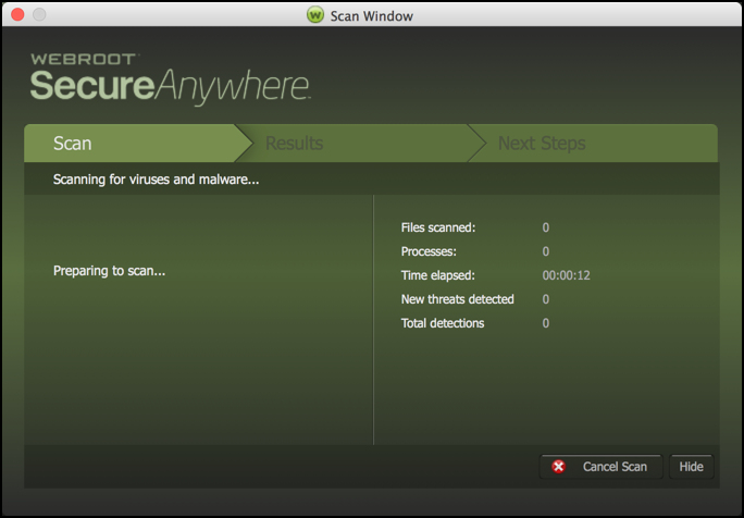 Review: Webroot SecureAnywhere for Mac - Ask Dave Taylor