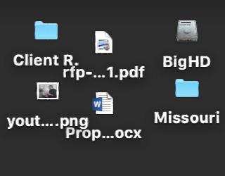 Stupendous How Can I Make My Mac Desktop Icons Bigger Ask Dave Taylor Beutiful Home Inspiration Semekurdistantinfo