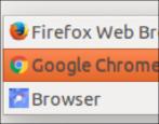 change default web browser, ubuntu linux