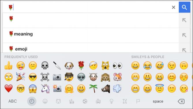 Search Google For Emoji?