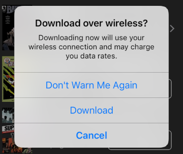 download over wireless?