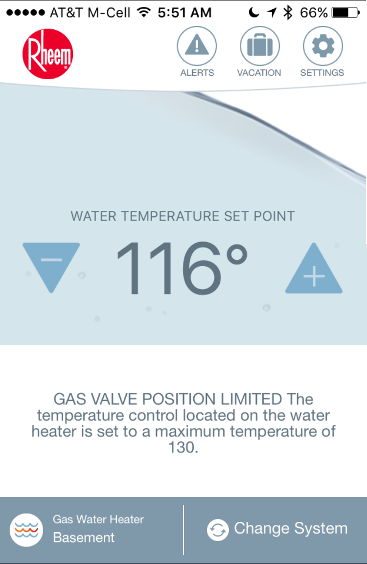 Set Rheem Water Heater Vacation Mode? - Ask Dave Taylor
