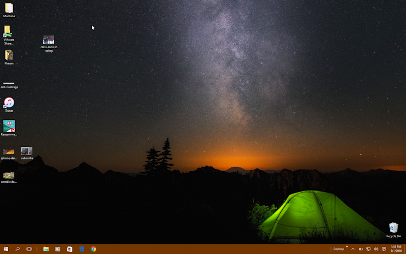set a photo as my windows 10 desktop wallpaper ask dave
