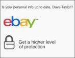 ebay email: legit or phishing scam spam?