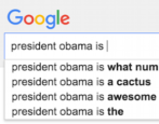 use google suggest suggestions clinton trump president candidate sentiment opinion