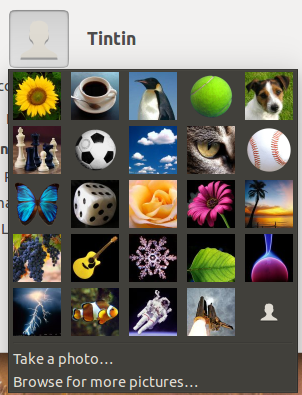pick an account icon from popular pictures