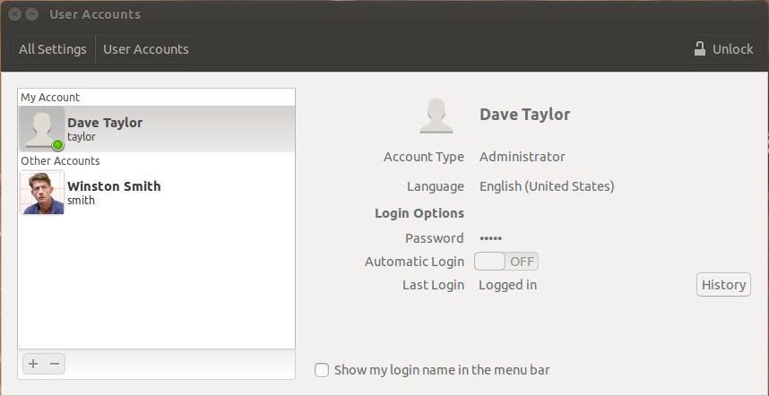 add user accounts ubuntu linux