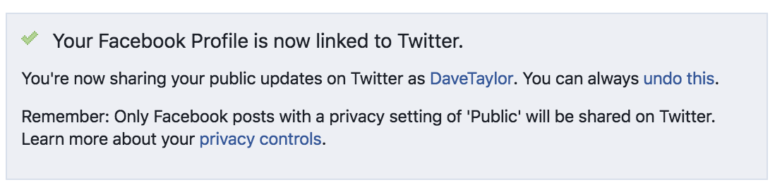 twitter hooked up to facebook