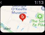 yelp apple watch walking directions