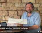 video review matias wireless aluminum bluetooth keyboard