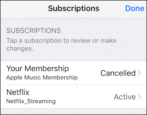 how to cancel stop end netflix recurring subscription fee itunes apple id store