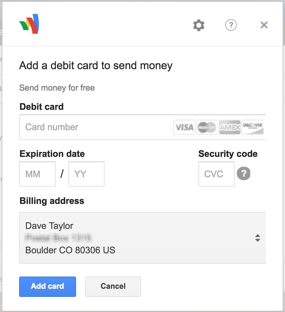 google wallet send money via gmail email