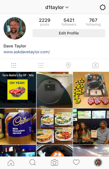 Find Instagram Posts Where You're Tagged? - Ask Dave Taylor