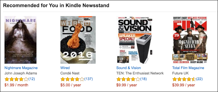 kindle edition magazines recommended amazon wired
