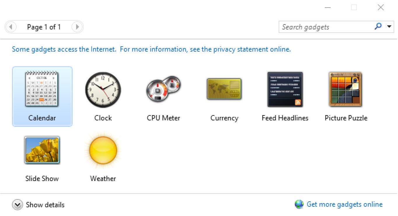 Add a clock desktop widget in windows 10 ask dave taylor windows gadget widget setup publicscrutiny Images
