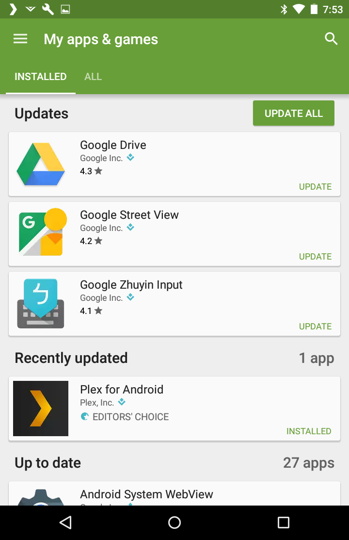 How to Update All Apps in Android? - Ask Dave Taylor