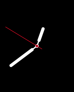 simple watch face, apple watch time