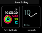 how to add set up configure new apple watch face