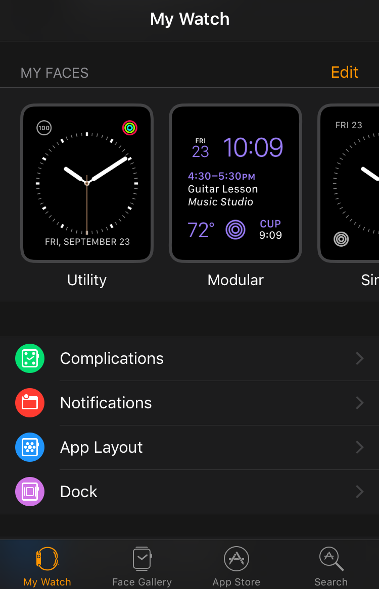 apple watch app, iphone