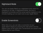 fix broken apple watch screenshot capture feature