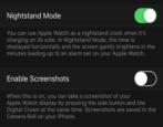 fix broken apple watch screenshot capture feature