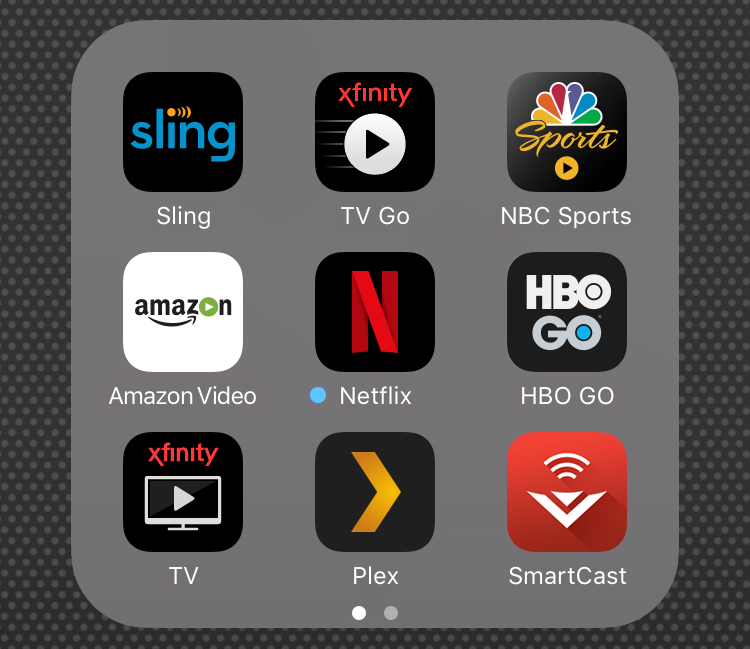 xfinity tv app, apple watch