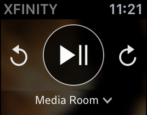 how to set up use comcast xfinity tv app, apple watch