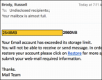 bogus hacking phishing email login account hosting hijacking email