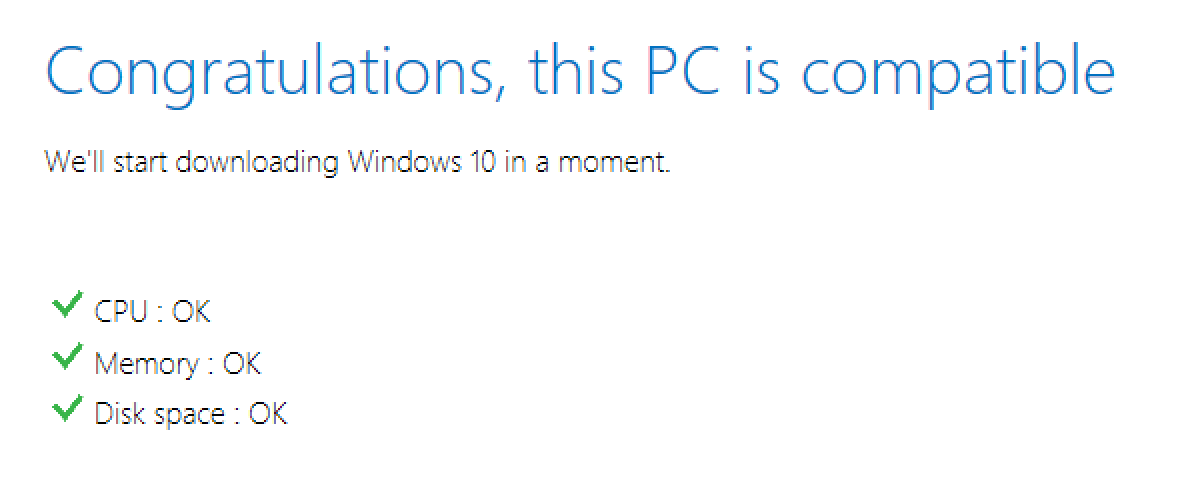 disk space ok, win10 preview update