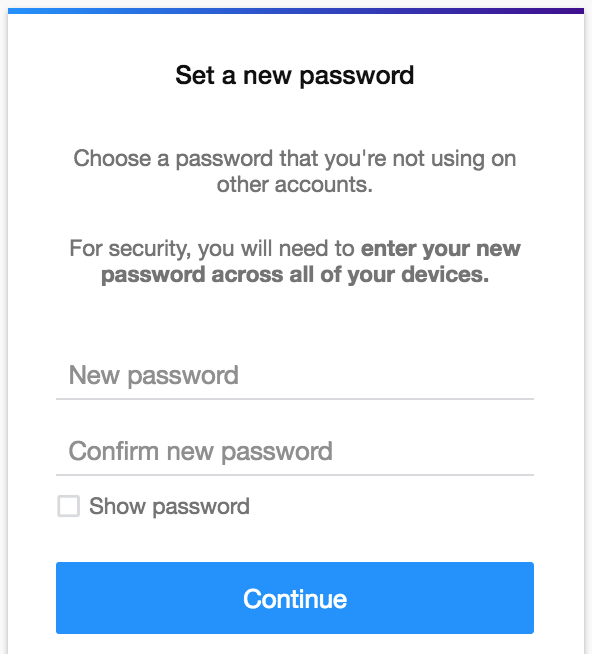 set new password yahoo.com