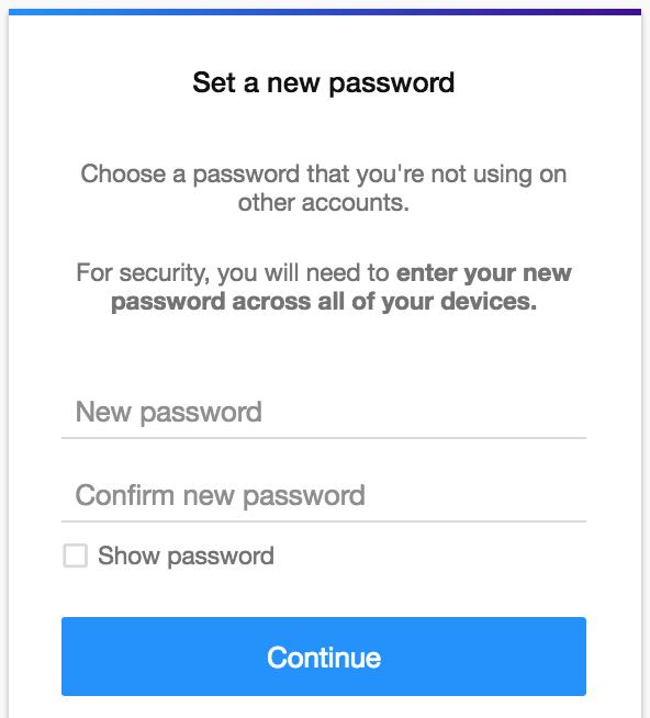 set new password yahoo.com