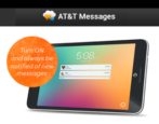 get started how to use att at&t messages sms text txt message