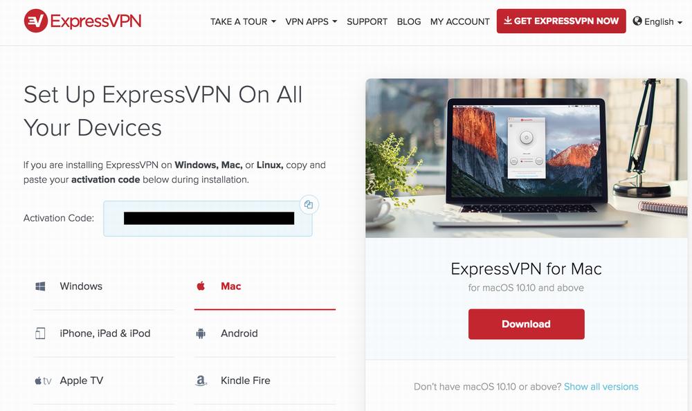 installing expressvpn vpn