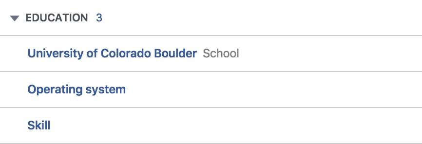 ad preferences facebook education