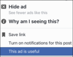 manage your facebook ad preferences keywords